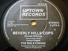 "The Big X Crewe-BEVERLY HILLS flics 7"" vinyle"