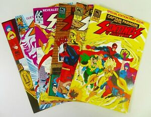AC SENTINELS OF JUSTICE (1985-1986) #1-6 VF to NM- LOT Ships FREE!