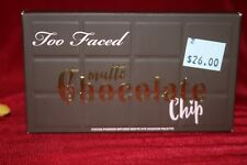 Too Faced Matte Chocolate Chip Cocoa Infused Eye Palette 100% Authentic Sephora