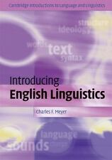 Cambridge Introductions to Language and Linguistics: Introducing English...