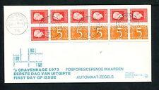 FDC met postzegelboekje PB 14, Philato, blanco/open