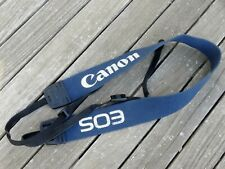 Genuine Canon Eos Shoulder Strap (Blue) - Top Quality Product - Free UK Post
