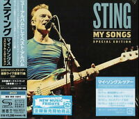 STING-MY SONGS - SPECIAL EDITION-JAPAN 2 SHM-CD BONUS TRACK H40
