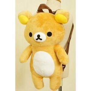 Rilakkuma Kids Plush Rucksack Backpack 18 x 10 x 27 cm San-X Japan Limited NEW