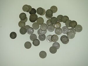 (48) SILVER ROOSEVELT DIMES COIN LOT