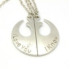 COLLANA STAR WARS 7 VII RIBELLIONE REBELS LOVERS CIONDOLO NECKLACE DARTH VADER 1