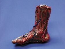 HALLOWEEN BLOODY SKINNED RIGHT FOOT  PROP BODY PART