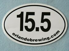 Bier Brewery Aufkleber ~ Orlando Gär Co 15.5 Ipa ~ Florida Breweriana