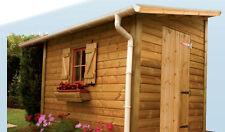 Kit Gutter for Garden Shed Sand Downpipe Elbow Coat Hanger Clothes Hook Bronzed