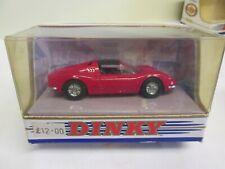 Dinky Toys  DY-24 Ferrari Dino 246 GTS 1973  Red
