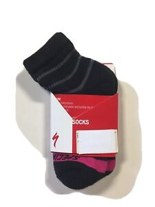 Specialized Womens Mountain Mid Socks Size XS/S Black/Pink