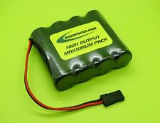 SANYO 4.8v 4000 FLAT RX RECEIVER BATTERY FOR HELICOPTERS / JR  / MADE IN USA