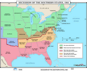 035 Secession of the Southern States, 1861