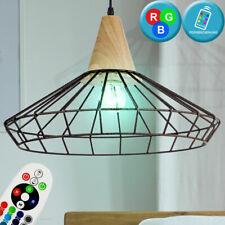 RGB LED Lámpara Colgante Ess Habitación Jaula Diseño Péndulo de Techo Distancia