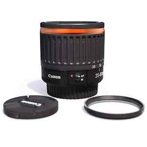 🔶 1:1 Canon Macro Lens Orange EF 35-80mm EOS 1.6x∼60mm-130mm 1.3x∼50mm-100mm 🔶