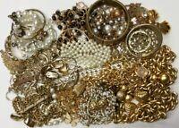 GOLD/SILVER TONE IVORY BLACK WEARABLE JEWELRY NECKLACE BRACELET BROOCH EARRINGS
