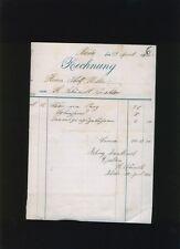 L255/ Rheda, alte Rechnung, 1906