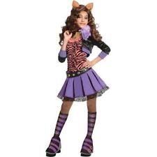 Monster High Deluxe Clawdeen Wolf Costume Child Medium 8-10