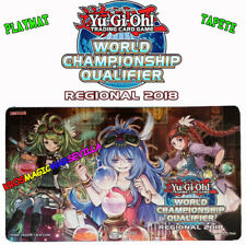 YUGIOH Playmat Regional WCQ 2018 Magicians NEW - Tapete Regional 2018