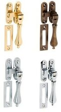 CASEMENT WINDOW FASTENERS IN VARIOUS FINISHES