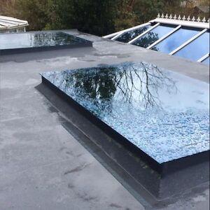 Skylight Roof Lantern Flat Rooflight 1000 x 2000 double glazed dome
