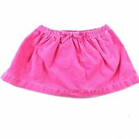 Carter's Baby Pink Green Cotton Corduroy Stretch Pleated Skirt Bloomers Set