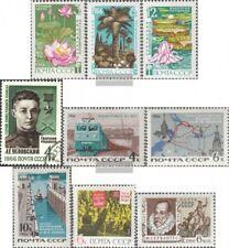 Sowjet-Union 3235-3237,3251,3253-55, 3293,3302 (kompl.Ausg.) gestempelt 1966 Son
