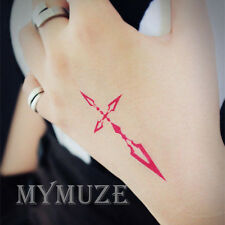 Fate/Zero Emiya Kiritsugu Cosplay Tattoo Sticker Fate/stay night Seal Tatoo