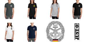 T-Shirt Bundeswehr Barettabzeichen Marinesicherung versch. Farben