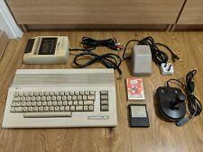 C64 Commodore 64 Computer Datassette PSU Joy Game Cartridge Cassette RCA Cable