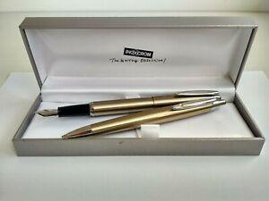 Inoxcrom Zeppelin Fountain pen & Ballpoint pen set