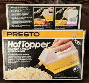 Vintage Presto Hot Topper Automatic Electric Butter Melter Dispenser Works