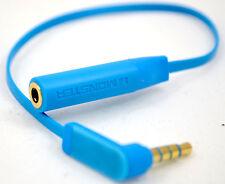 4 polos 3.5mm Macho 90 grados ángulo a hembra Cable de extensión de audio para auriculares