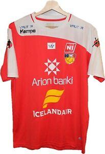 ICELAND HANDBALL team Jersey Shirt size M KEMPA Tricot Maglia Camiseta