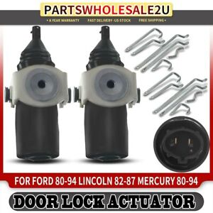 Fits # 3W7Z 5422008 M10-1.50 PAIR Door Striker Bolts Front and Rear Doors