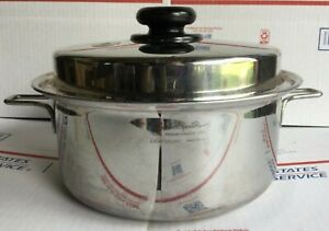 Saladmaster 316Ti Titanium Stainless Steel USA 4 Qt 0807 Dutch Oven Soup Pot