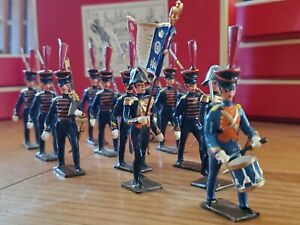 CBG Mignot Rare Marins De La Garde 1812 Period 1 and 2 INF 12 Toy Soldiers