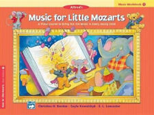 Music for Little Mozarts Music Workbook, Bk 1: Coloring and Ear Training