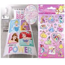 Princesse Disney Brave Set Housse de couette simple + Petit Feuille autocollants