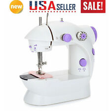 Household Portable Electric Sewing Machine 12 Stitches Tailor 2 Speed Foot Pedal