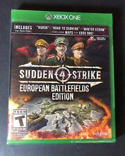 Sudden Strike 4 [ European Battlefields Edition ] (XBOX ONE) NEW