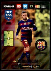 Panini 365 Adrenalyn XL 2017 Jordi Alba FC Barcelona POWER-UP: Dynamo No. 381