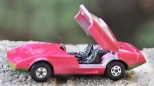 Vintage 1970 Pink matchbox  Dodge Charger Car