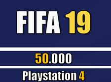 FIFA 19 FUT Ultimate Team - 50.000 Münzen / 50k Coins - PS4