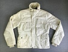 G STAR RAW DENIM JACKET COAT Insulated Cream MASH JKT WMN Women Large