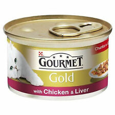 Gourmet Gold Cans 85g Chicken & Liver Chunks in Gravy HL0910Lx12
