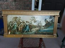 American Arts and Crafts Painting Frame Roman Gothic Style  35'' by 17.5''