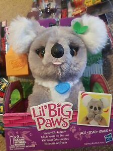 Lil Big Paws Sneezy Kiki Koala By Hasbro Furreal Friends