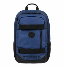 Zaino Medio DC Shoes Clocked Washed Indigo 18L Scomparto PC Backpack 48x32x11
