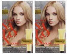 2 x REVLON SALON HAIR COLOR 9A LIGHT CHAMPAGNE BLONDE 100% Brand New